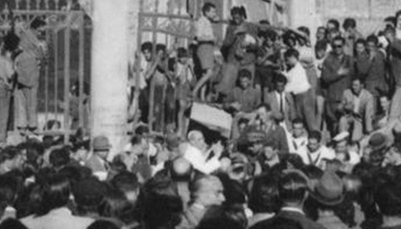 Spunta fuori la vera foto di Pio XII a San Lorenzo
