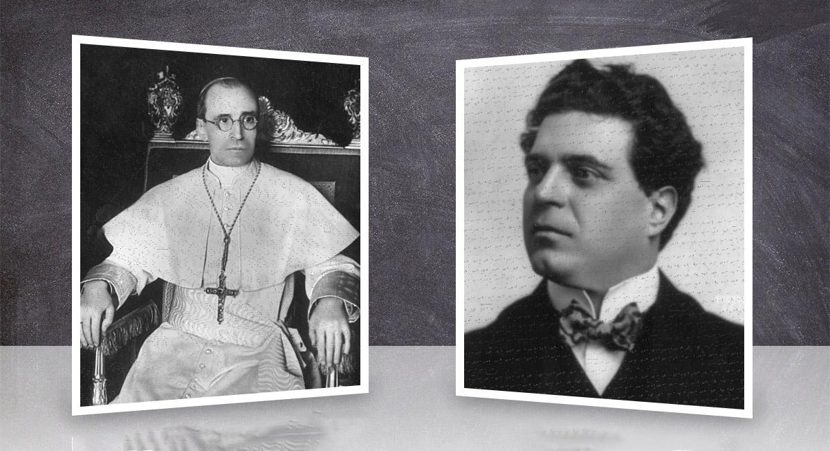 """Mascagni, amico e testimone di un """"miracolo"""" di Pio XII"""